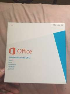 Microsoft Office Home & Business 2013 (NEGOTIABLE)