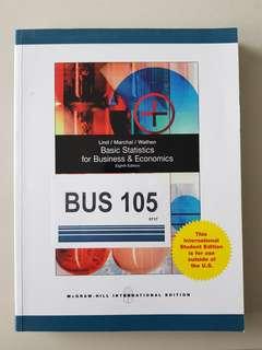 BUS105 Statistics