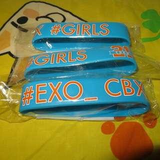 CBX Girls會員限定手環