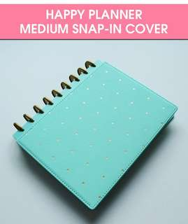 Happy Planner Med Size Hard cover
