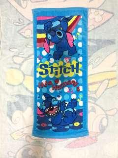 Stitch 史迪仔長毛巾(Brand new 全新)
