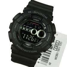 CASIO G-shock GD-100-1BDR Black New