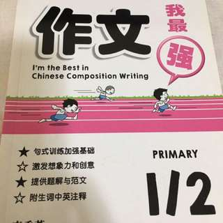 Chinese Compo 作文 supplementary book P1 P2