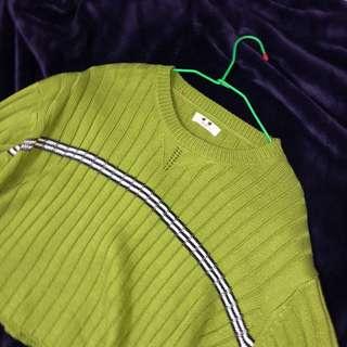 🚚 綠色針織毛衣