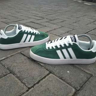 Adidas Neo VL Court Green White