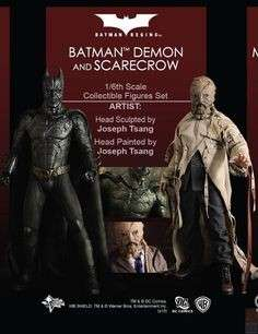 Batman Demon & Scarecrow