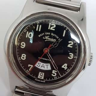 West End Day Date K-4289 Automatic Vintage Watch