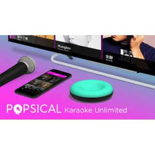 RENT - Popsical Karaoke System - WITH UNLIMITED ACCESS