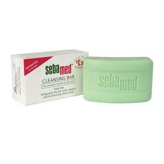 Sebamed cleansing bar sabun bebas soda ph 5,5