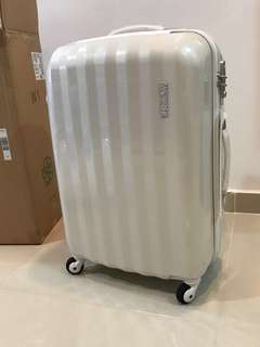 Brand New American Tourister Luggage (Pearl White)