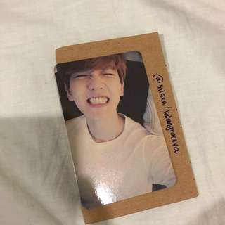 [INTEREST CHECK] EXO BAEKHYUN OFFICIAL CHINESE LMR PHOTOCARD