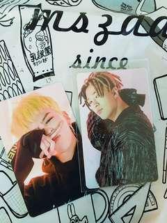 BIGBANG GD太陽 卡貼