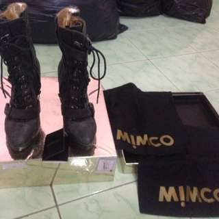Sepatu heels boots Mimco