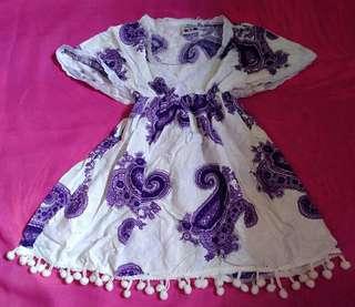 Dress bali baby girl