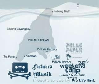 Weekend Camp @ Pulau Papan