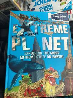 Extreme planet by lonely planet