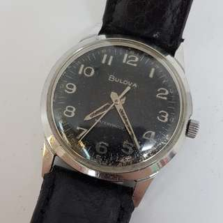 Bulova Hand Winding Vintage Watch