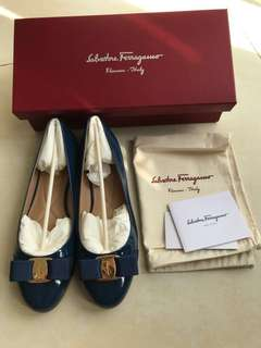 Salvatore Ferragamo cobalt blue Shoes