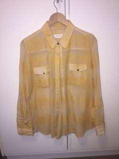 Zimmerman Shirt - Yellow