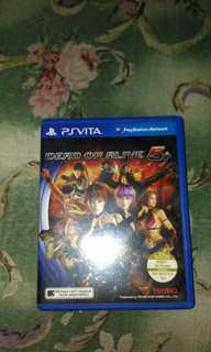 Ps vita dead or alive 5plus for sale