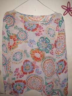 Baju motif floral