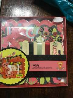 Scallop chipboard album kit