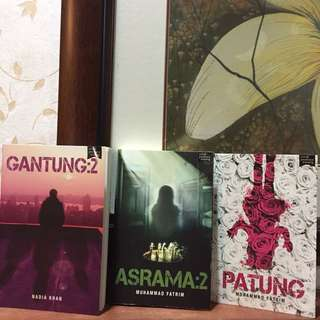 Novel Fixi (set raya)