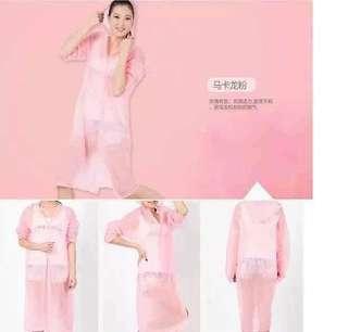 #015 cute raincoat for women