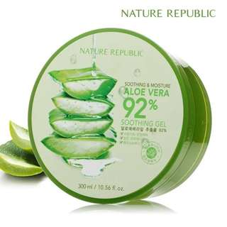 Nature Republic Aloe Vera 100% Original