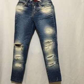 Unused Tattered Jeans
