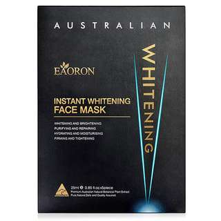 EAORON Instant Whitening Face Mask 25ml *5 Piece (Pre-Order) $38