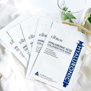 Eaoron Hyaluronic Acid Collagen Hydrating Face Mask 25ml *5 Piece (Pre-Order)