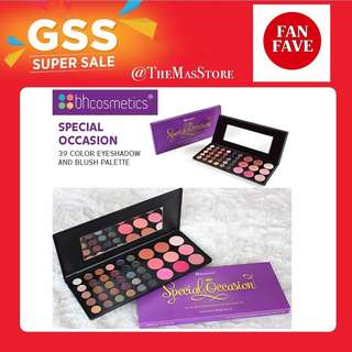 🚚 BH Cosmetics - Special Occasion 39 Color Eyeshadow & Blush Palette