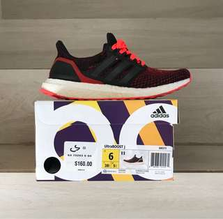 "ADIDAS ULTRA BOOST 2.0 J ""SOLAR RED"" S80373"