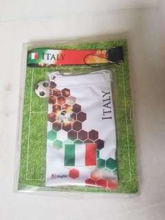 Handphone pouch & handphone strap (Italy)