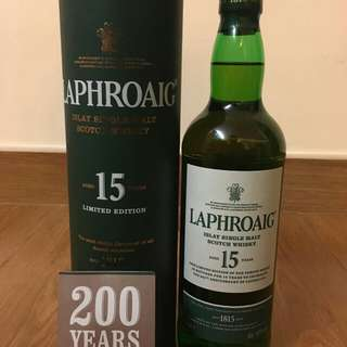 laphroaig15周年紀念版whisky