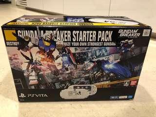 PS Vita Gundam Breaker Starter Pack