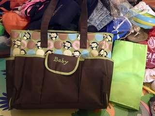 Carters diaper/baby bag