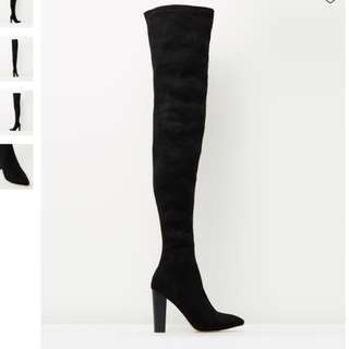 Billini Thigh High Boots - Size 5 or 6