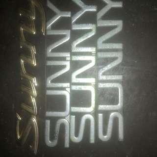 Emblem Nissan Sunny B13 B14 Jdm Japan