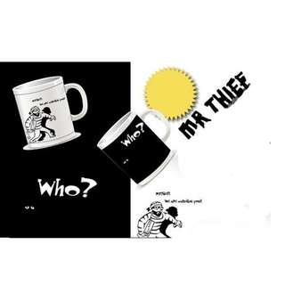 Who's the thief Changing cup
