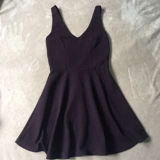 Topshop purple dress