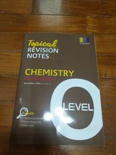 O level Chemistry revision notes