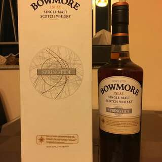 bowmore springtide whisky