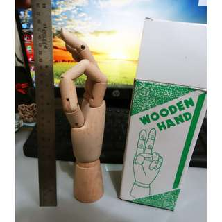 Wooden Hand For Artist Use