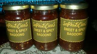 Sweet and Spicy Bagoong