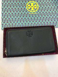 Original Tory Burch women wallet black long purse