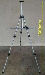 Adjustable Lightweight Aluminium Easel Stand 伸缩性,轻量级铝画架