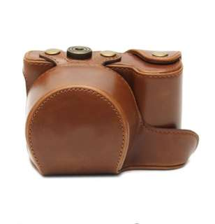 PU leather camera case for SONY ILCE-6000, ILCE-6300, A6000 and A6300