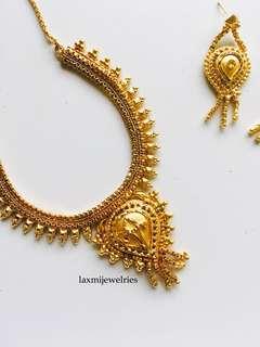 AMARA set (necklace & earring)